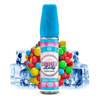 Dinner Lady Sweets Ice - Bubble Trouble - 20ml Aroma (Longfill)
