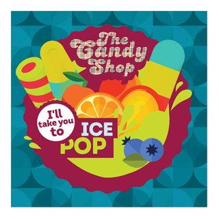The Candy Shop Aroma - Ice Pop - 10ml Aroma
