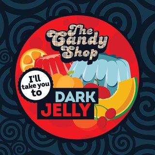 The Candy Shop - Dark Jelly 10ml Aroma