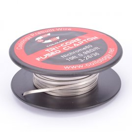 Coilology Tri-Core Fused Clapton Nichrome Spule (10ft)...