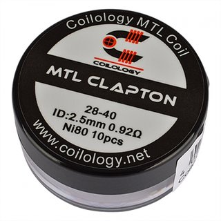 Coilology MTL Clapton 0,92Ohm Nichrome (10Stk./VE)