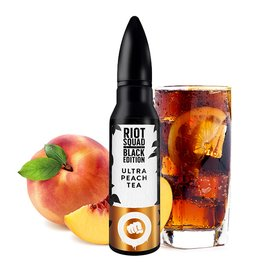 Riot Squad - Black Edition - Ultra Peach Tea - 15ml Aroma...